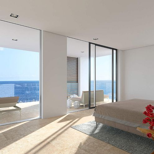 Elements Luxus Apartments in Puerto Portals | Architekturvisualisierung und Animation in 3D von gmsvision
