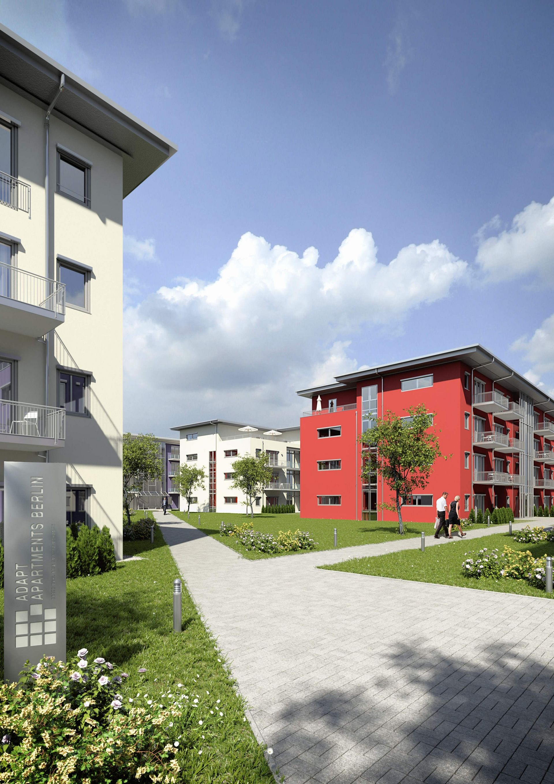 3d Architekturvisualisierung 3d visualisation of architecture projects gmsvision